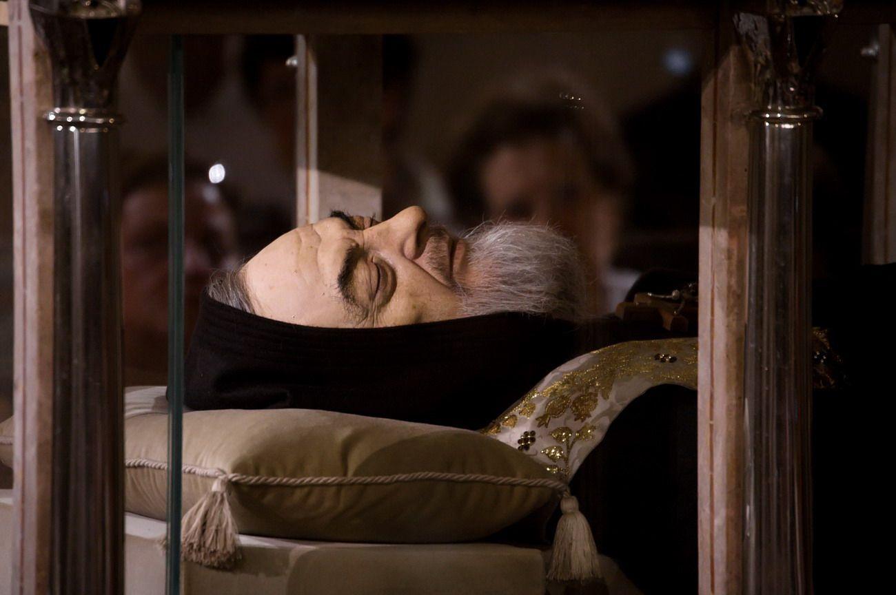 La salma di Padre Pio torna a Pietrelcina