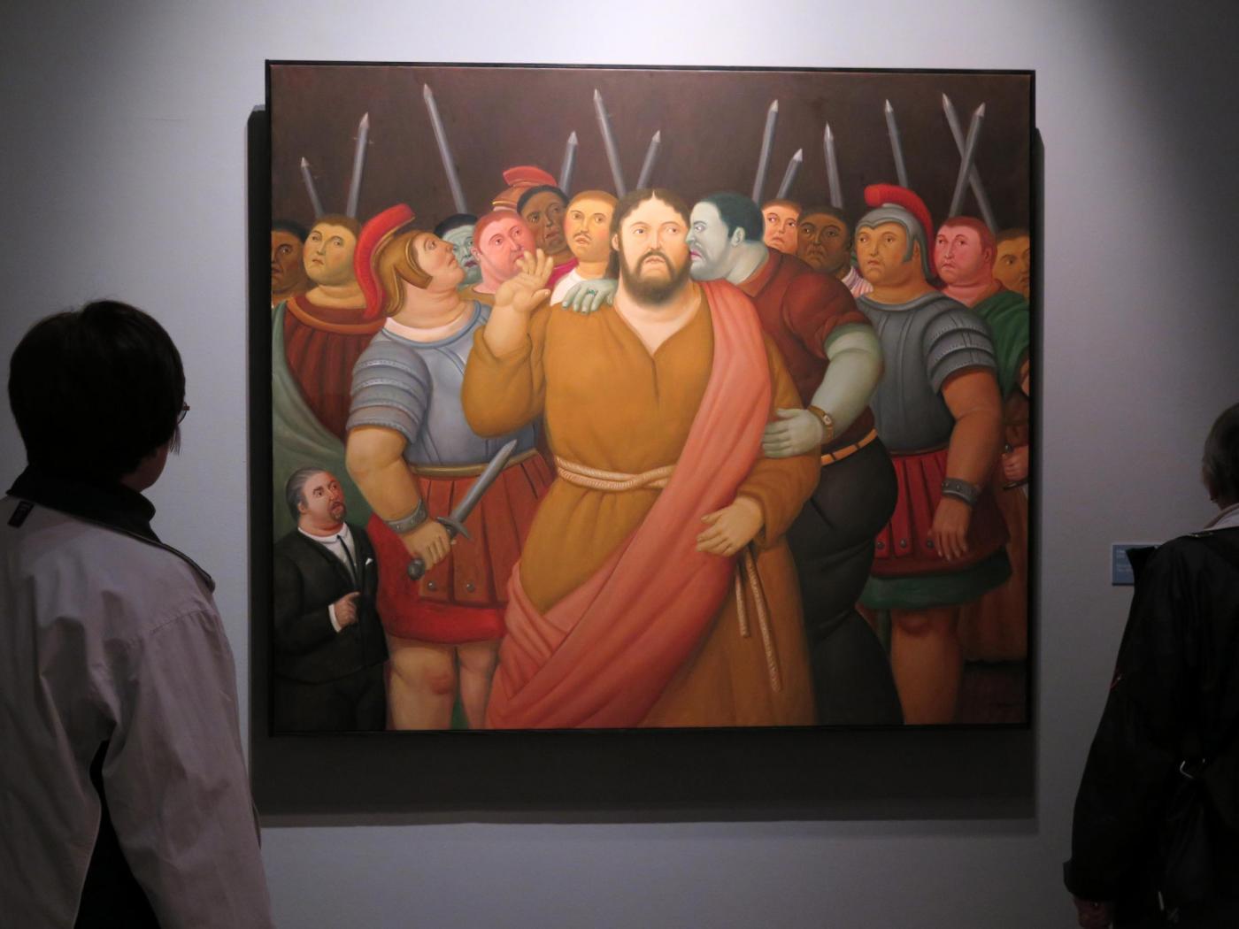 Mostra Botero: dopo Palermo a Roma 'Via Crucis', le opere che raccontano la Passione di Cristo
