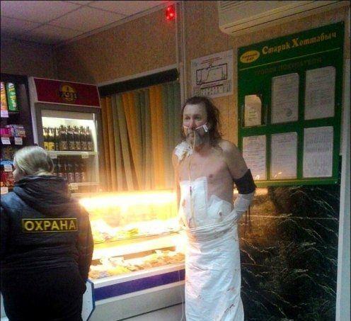 Russia: scappa dall'ospedale seminudo in cerca di una birra