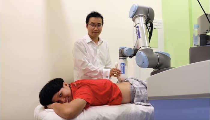 Robot fisioterapista