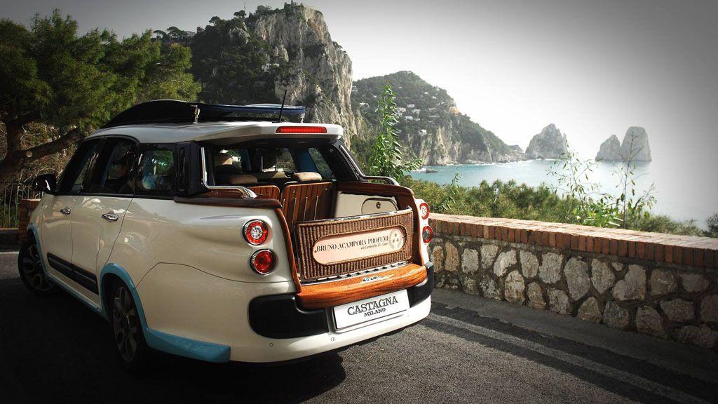Fiat 500 Castagna: ecco Tiberio, il taxi di lusso per Capri