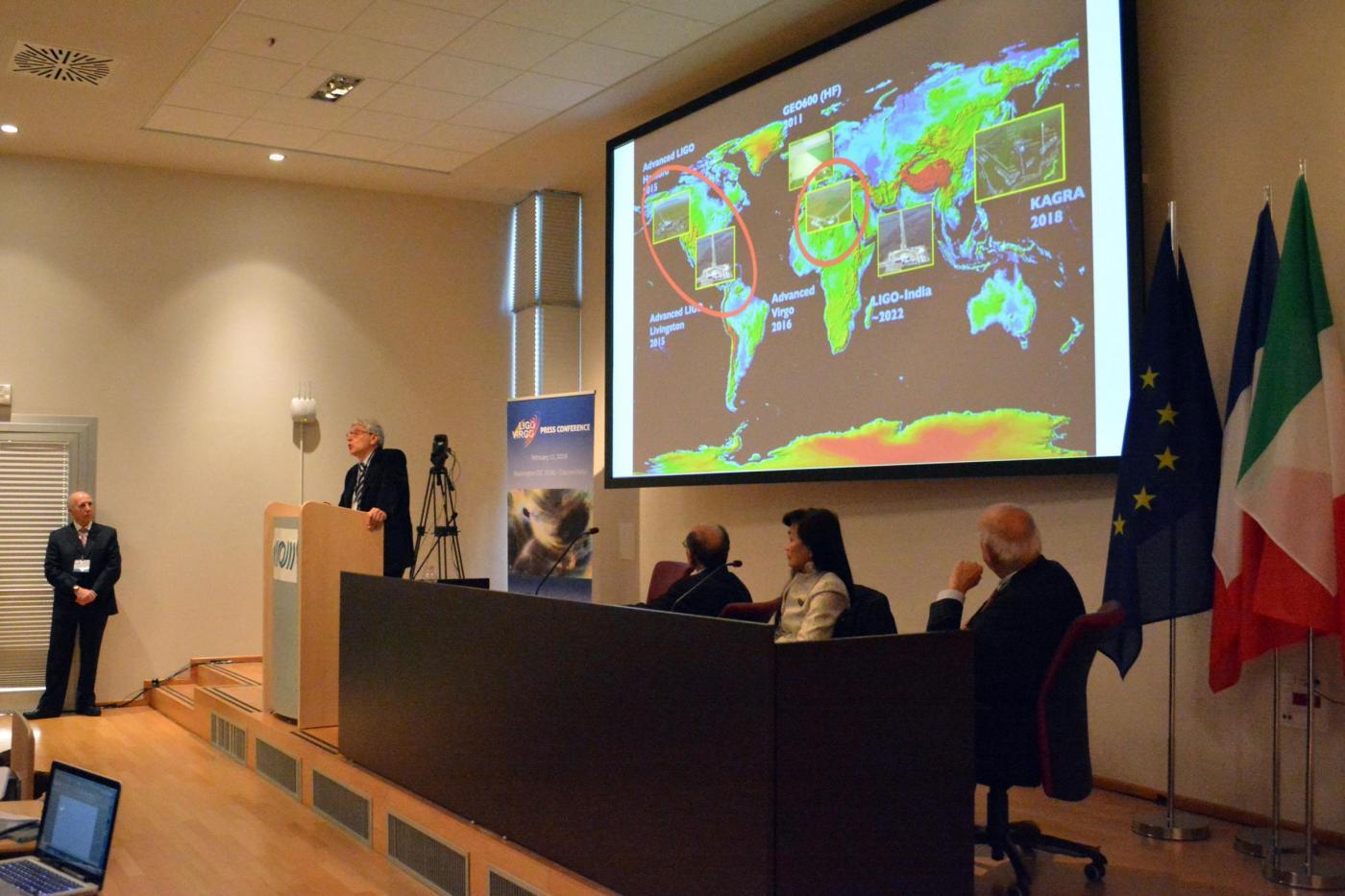 Scoperte le onde gravitazionali: la conferenza degli scienziati