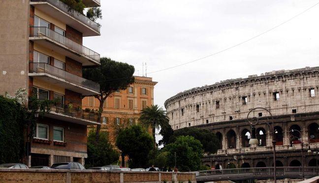 casa vicino al Colosseo