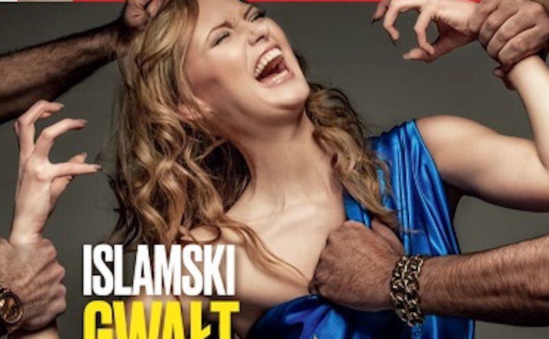 Immigrazione, dalla Polonia la copertina choc dello stupro che fa scandalo