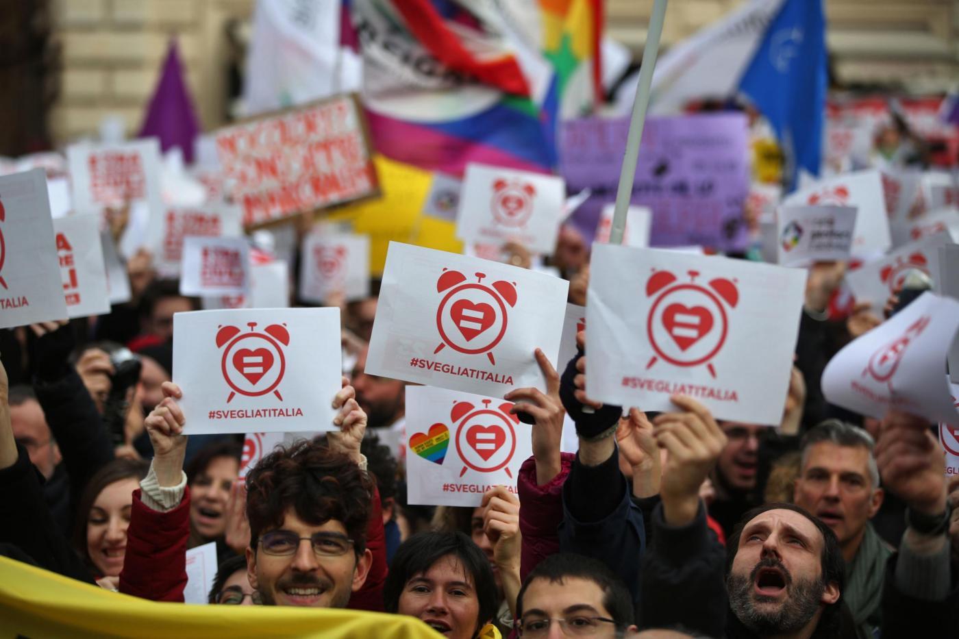 Ddl Cirinnà, i diritti civili diventano un'arma di distrazione di massa