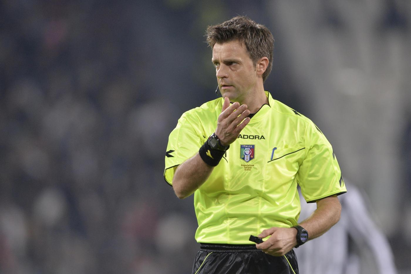 Rizzoli infortunato salta Juve-Napoli