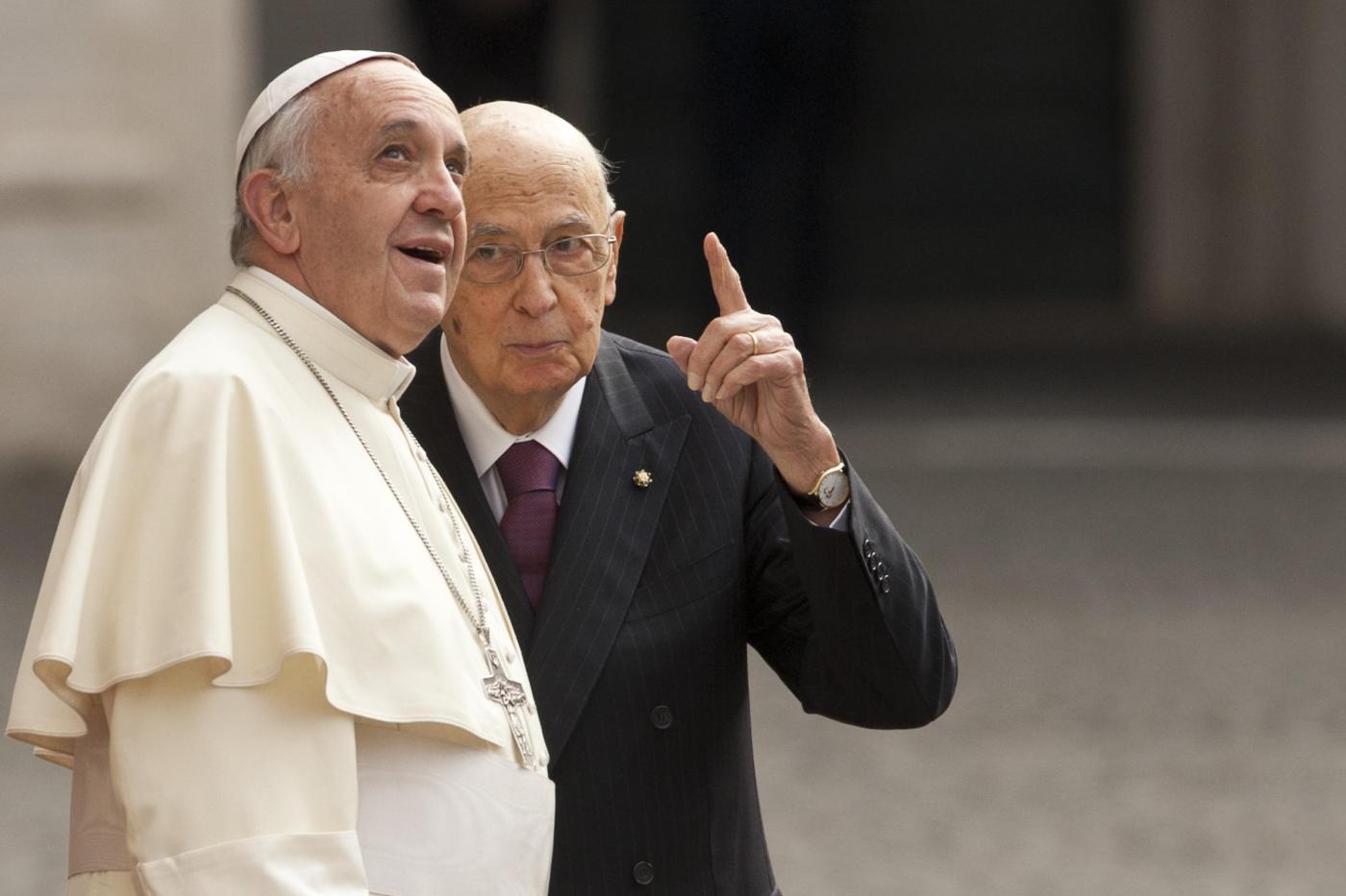 Quirinale visita ufficiale Papa Francesco