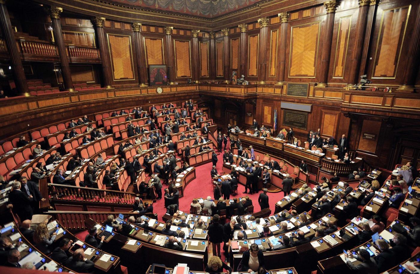 Senato Discussione del DDL sulle Unioni civili
