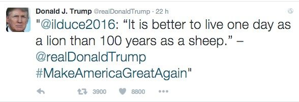 Donald Trump Cita Mussolini Ed Esplode La Polemica Mi