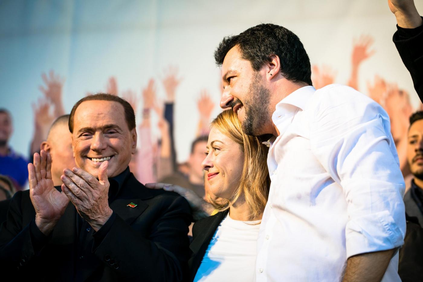 Elezioni Roma, Berlusconi contro Salvini: 'I leghisti sono ex fascisti'