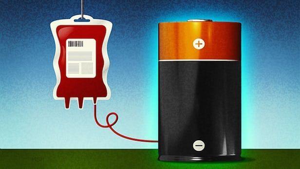 La batteria del futuro funzionerà grazie al sangue
