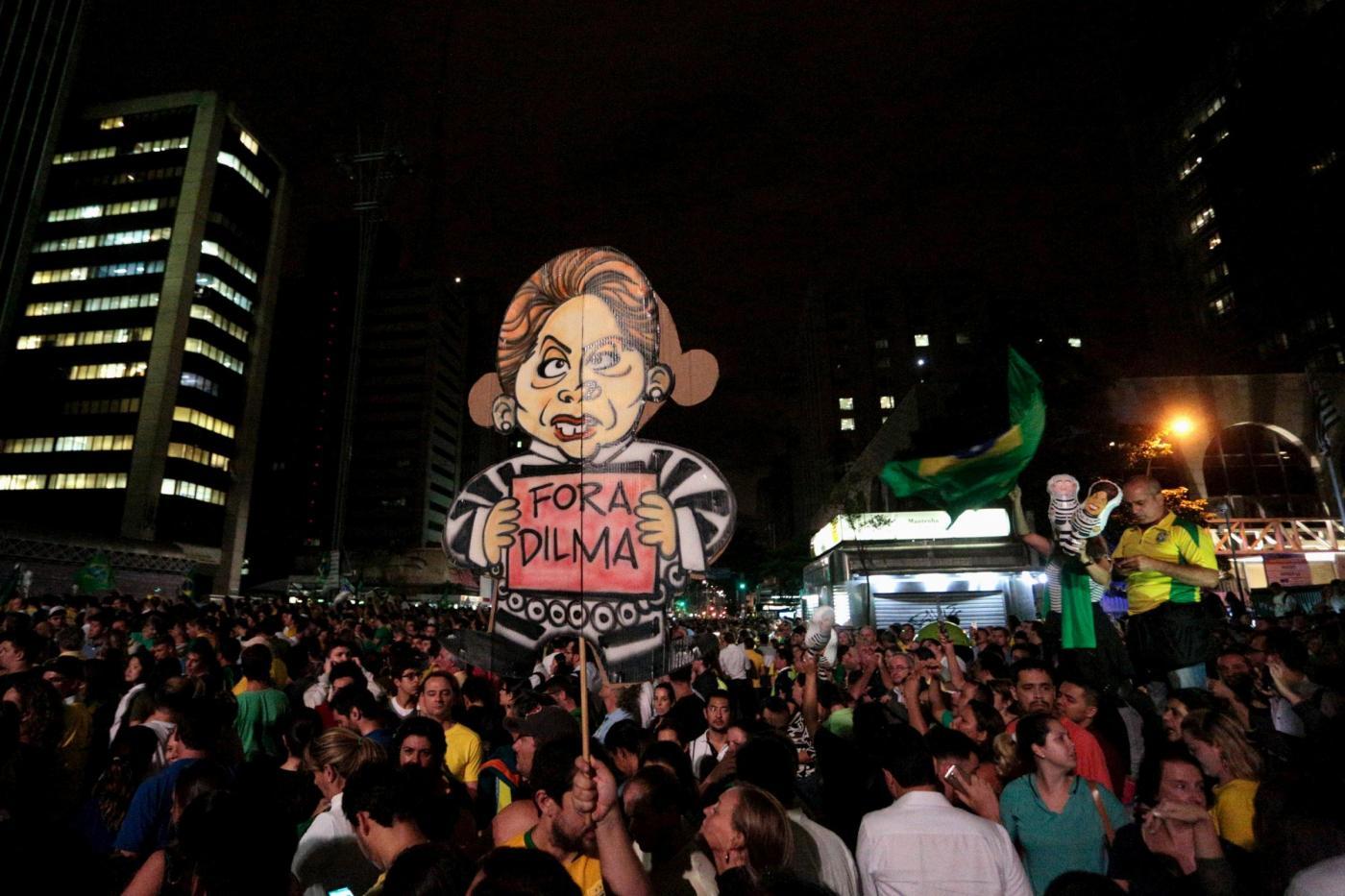 Brasile manifestazione contro il governo
