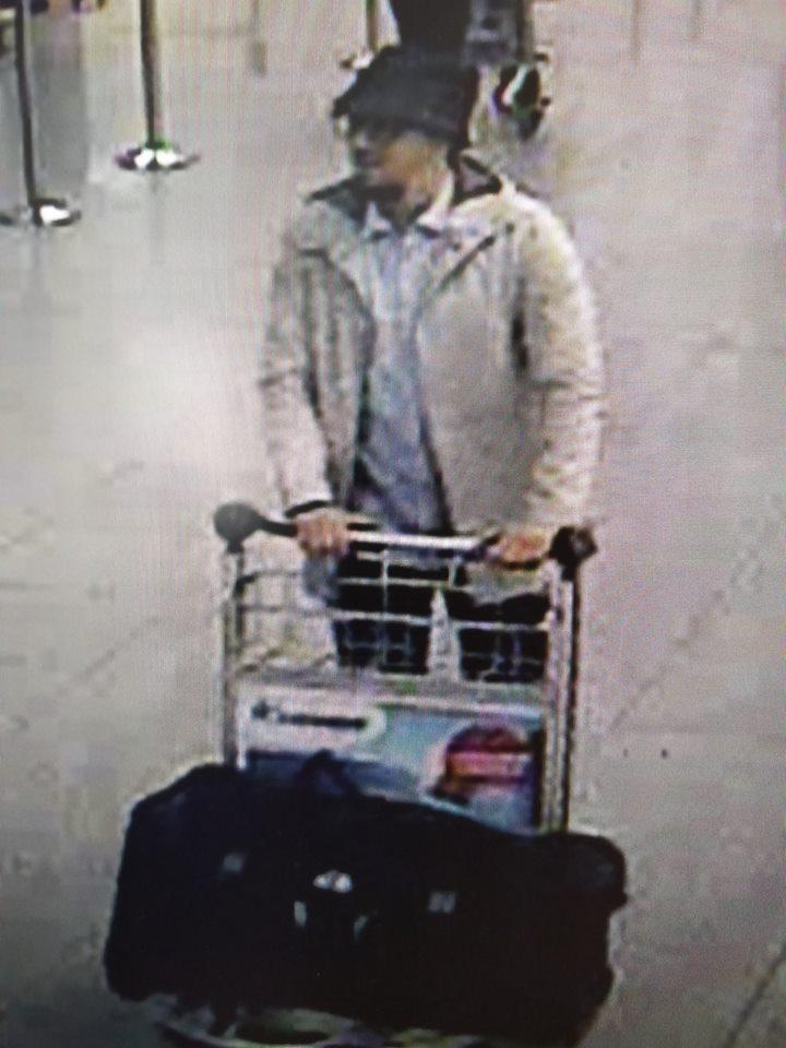 Attentati Bruxelles i presunti kamikaze in aeroporto