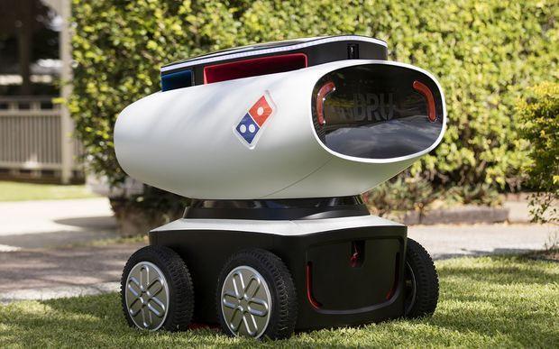 Pizza a domicilio consegnata dai robot?