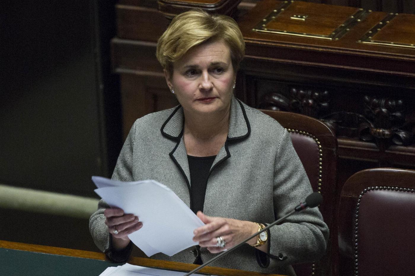 Eni, il ministro Federica Guidi si dimette con una lettera a Renzi