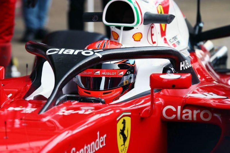 Formula 1 Test: Raikkonen utilizza protezione Halo