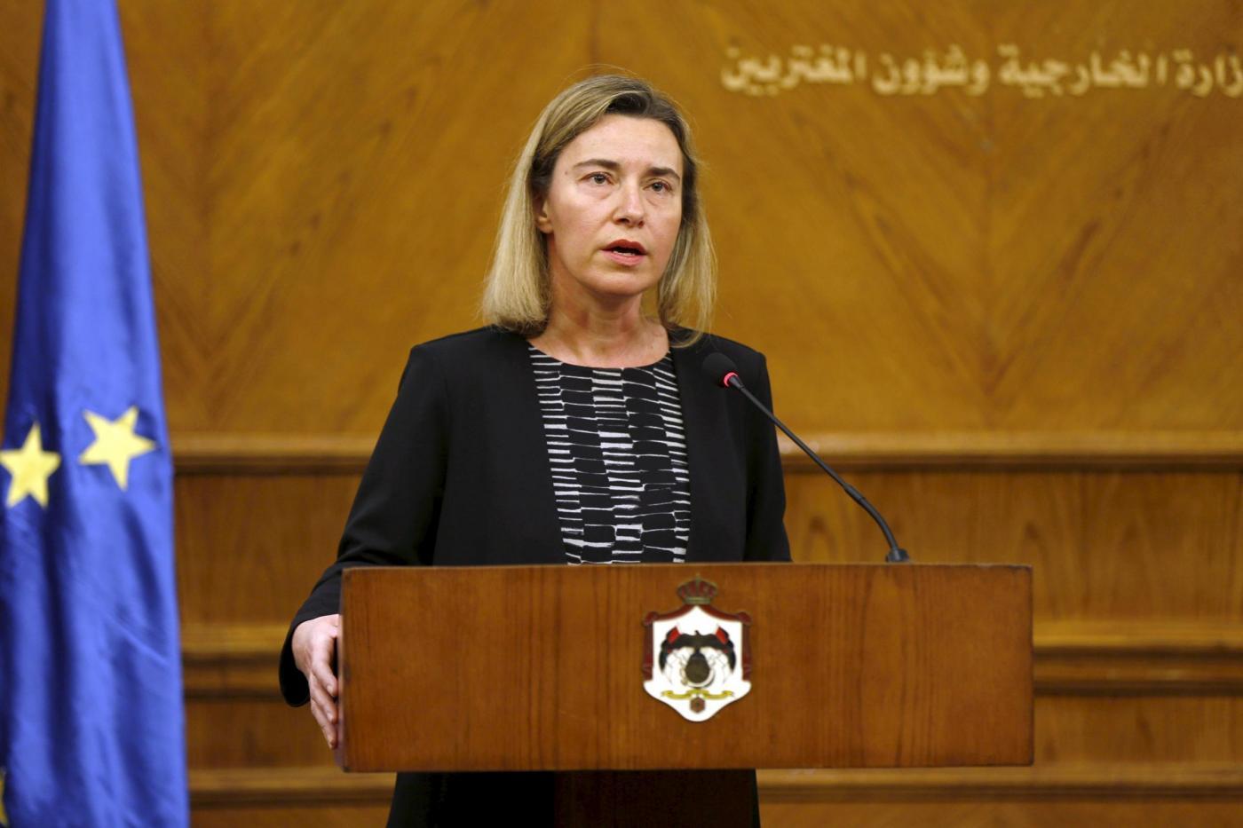 Bruxelles sotto attacco: le lacrime di Federica Mogherini