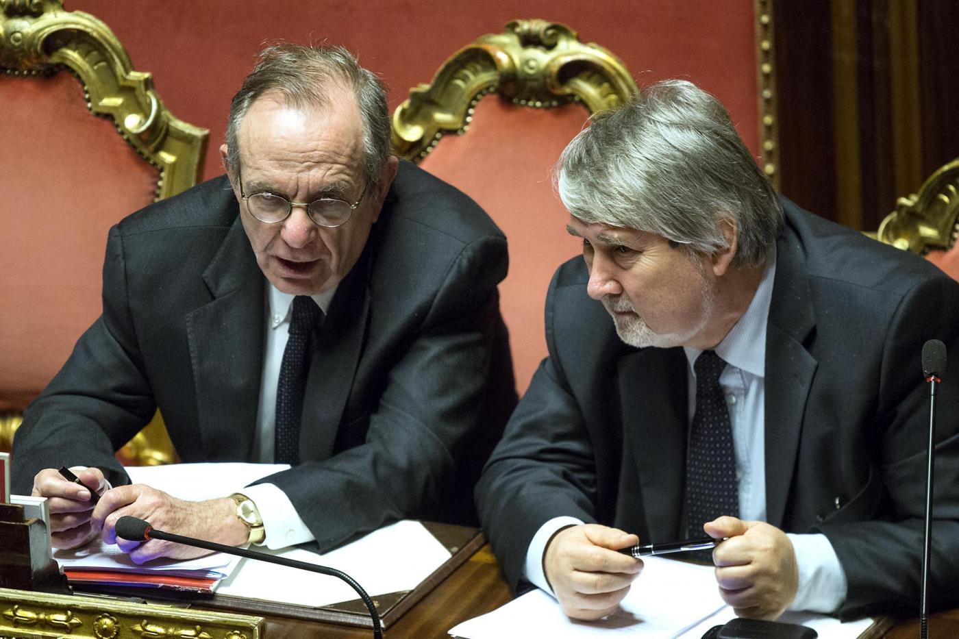 Senato Fiducia governo Renzi