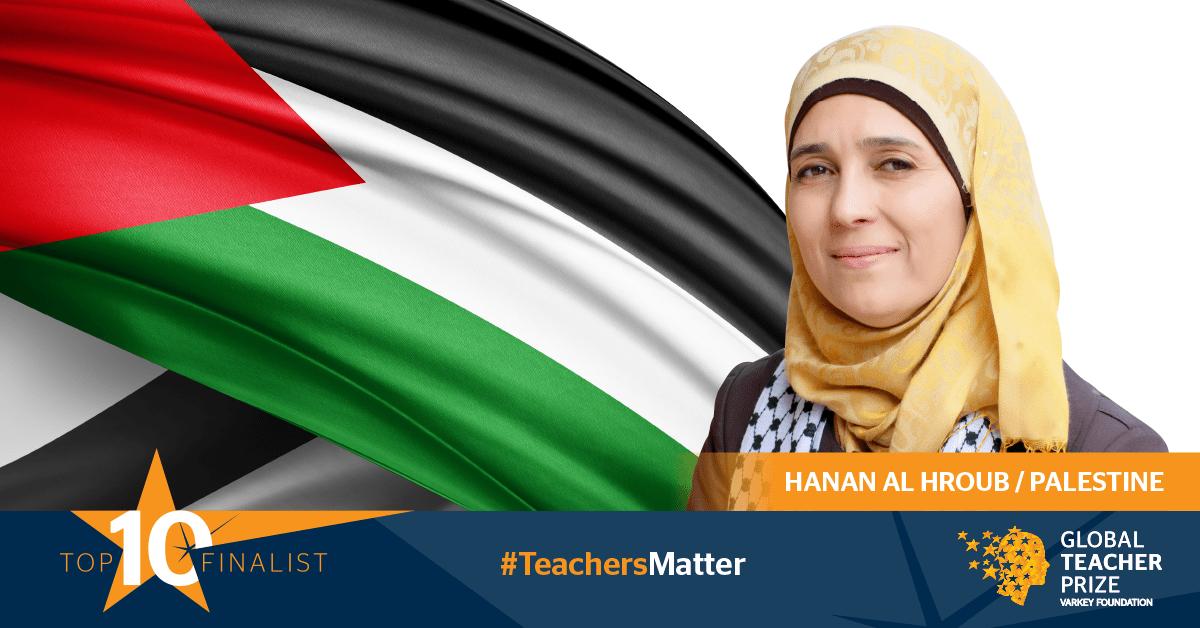 La professoressa migliore del mondo insegna in un campo profughi in Palestina