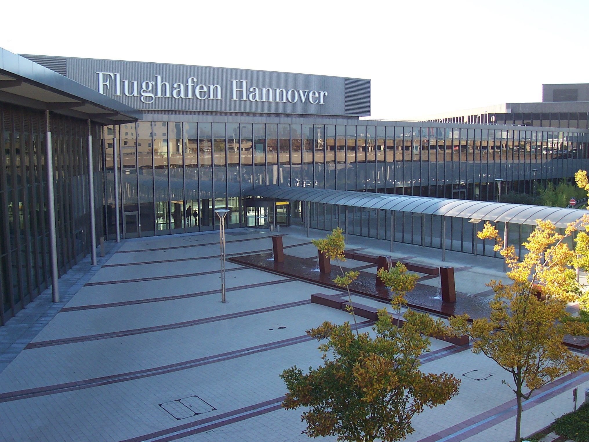 L'aeroporto di Hannover