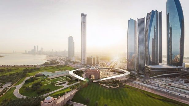 Hyperloop One Dubai