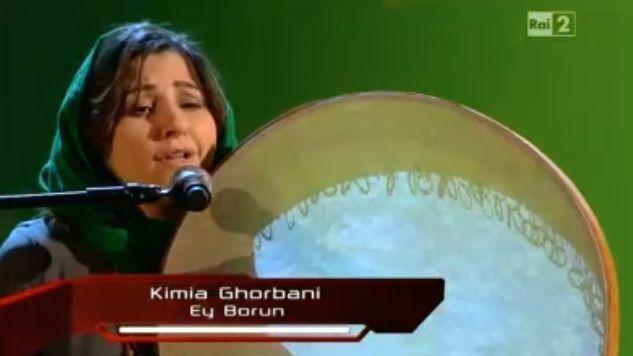The Voice, chi è Kimia Ghorbani: dall'Iran al talent di Rai 2