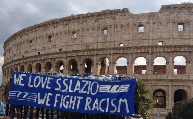 Tifosi Lazio: organizzato flash mob contro il razzismo