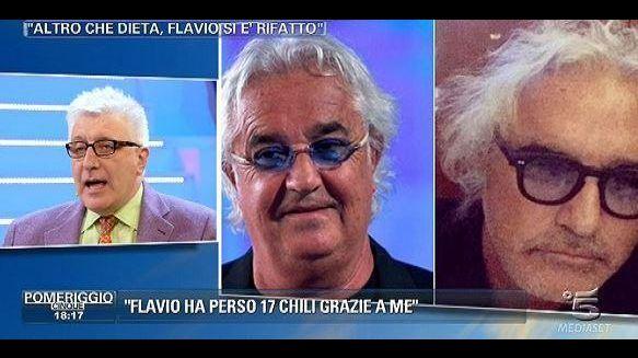 Domenica Live, il dietologo di Flavio Briatore insulta le donne: Galline, voglio parlare con gli uomini