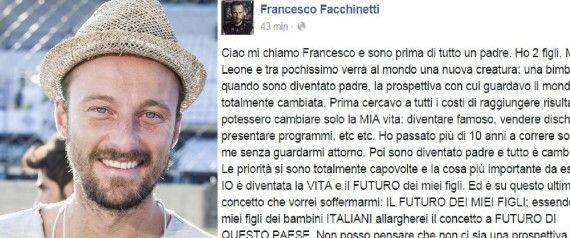 Francesco Facchinetti lancia un movimento (a)politico per il futuro dei giovani