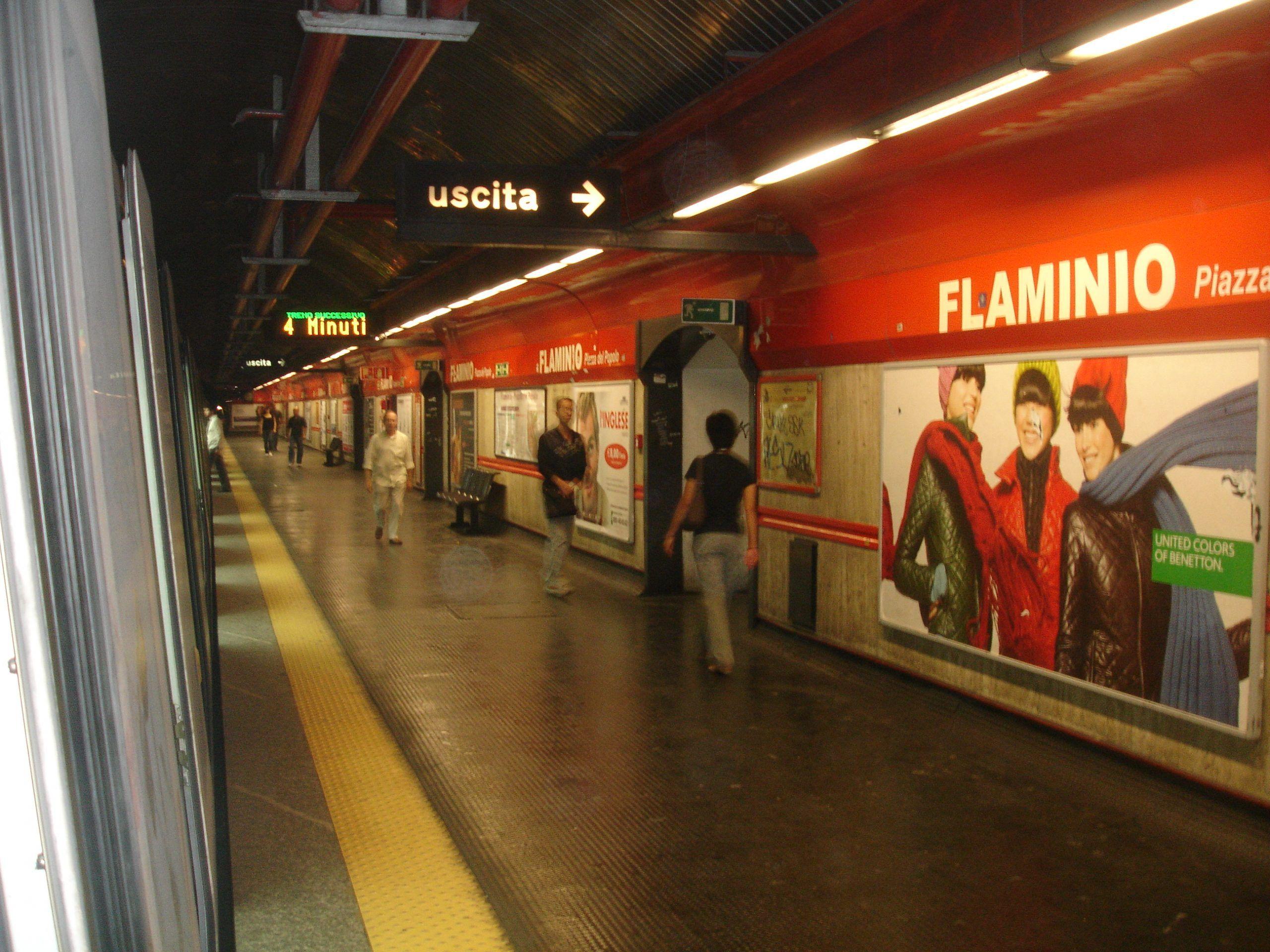 Metro Roma falso attentato