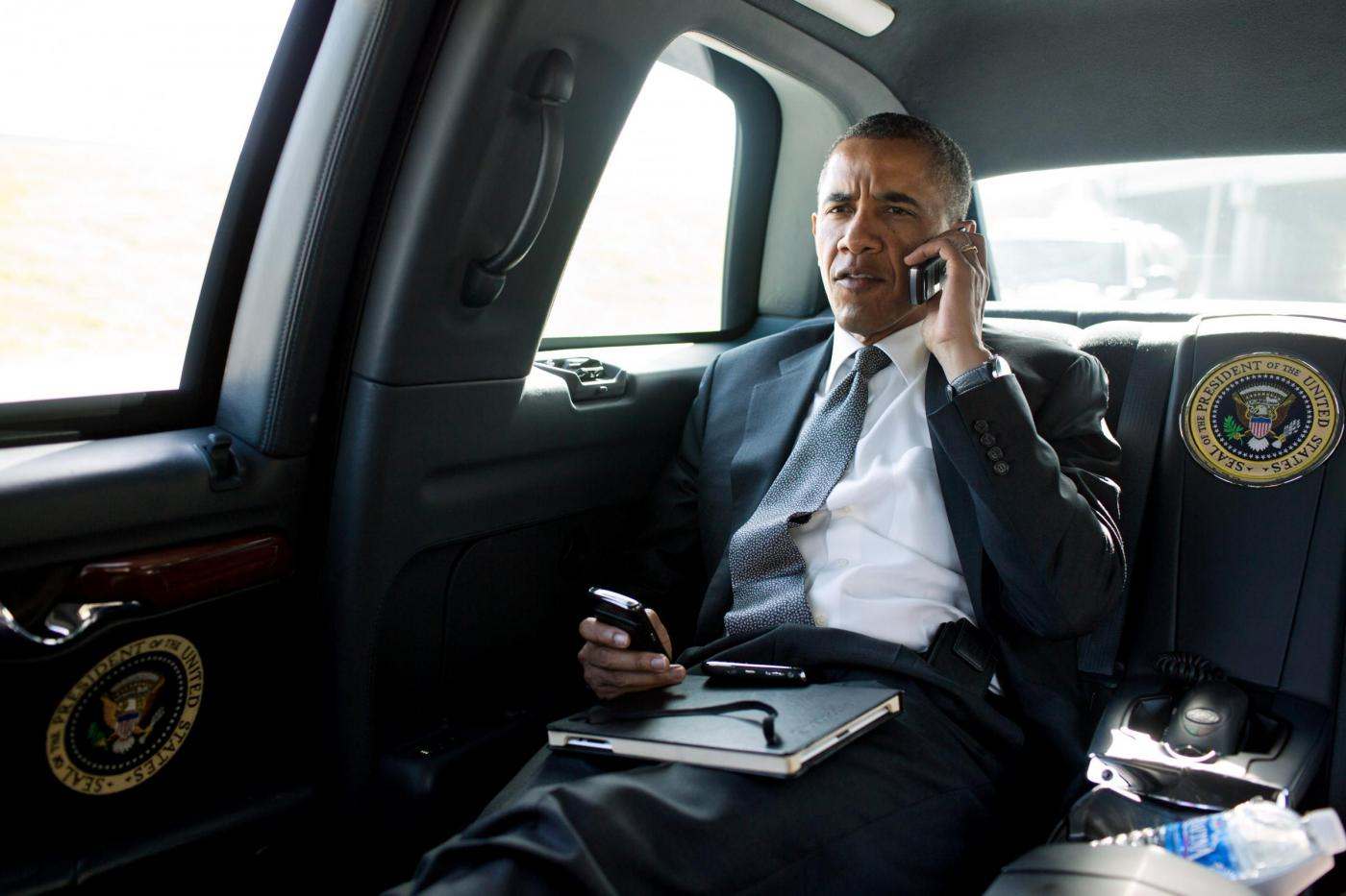Barack Obama dietro le quinte