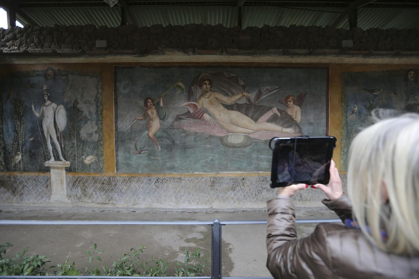 Mostra Mito e Natura dalla Grecia a Pompei, la Venere in conchiglia