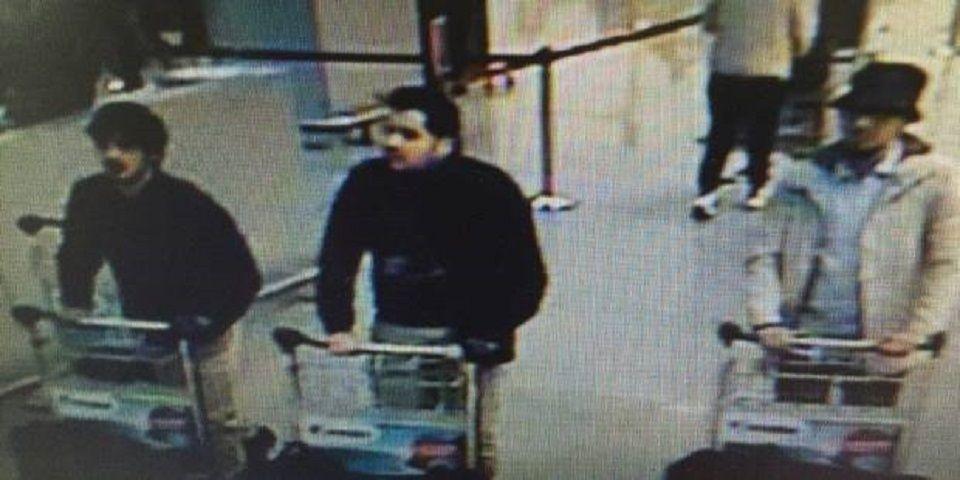 Presunti attentatori Bruxelles