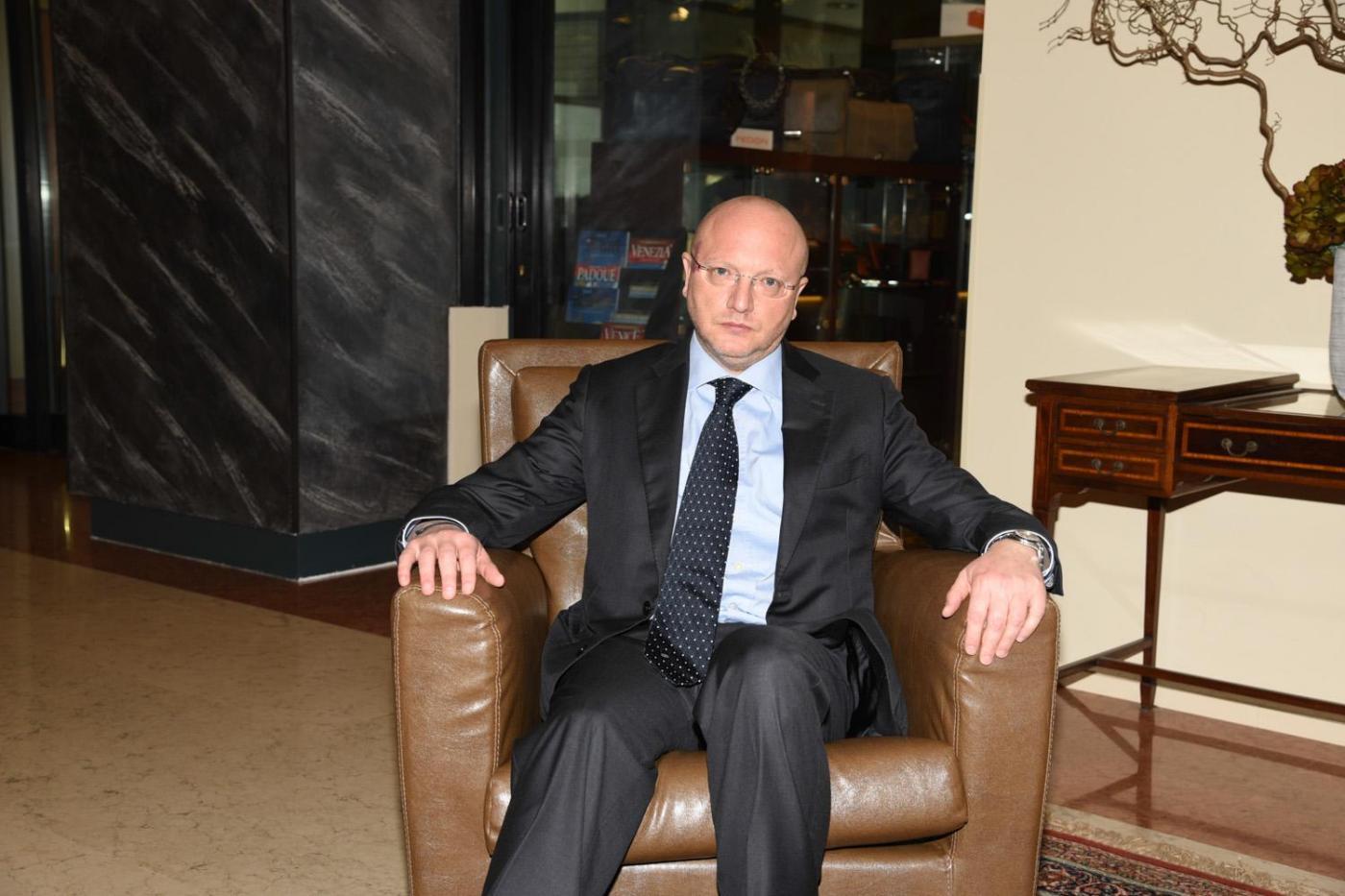 Confindustria, presentazione candidati presidenza hotel Sheraton Padova