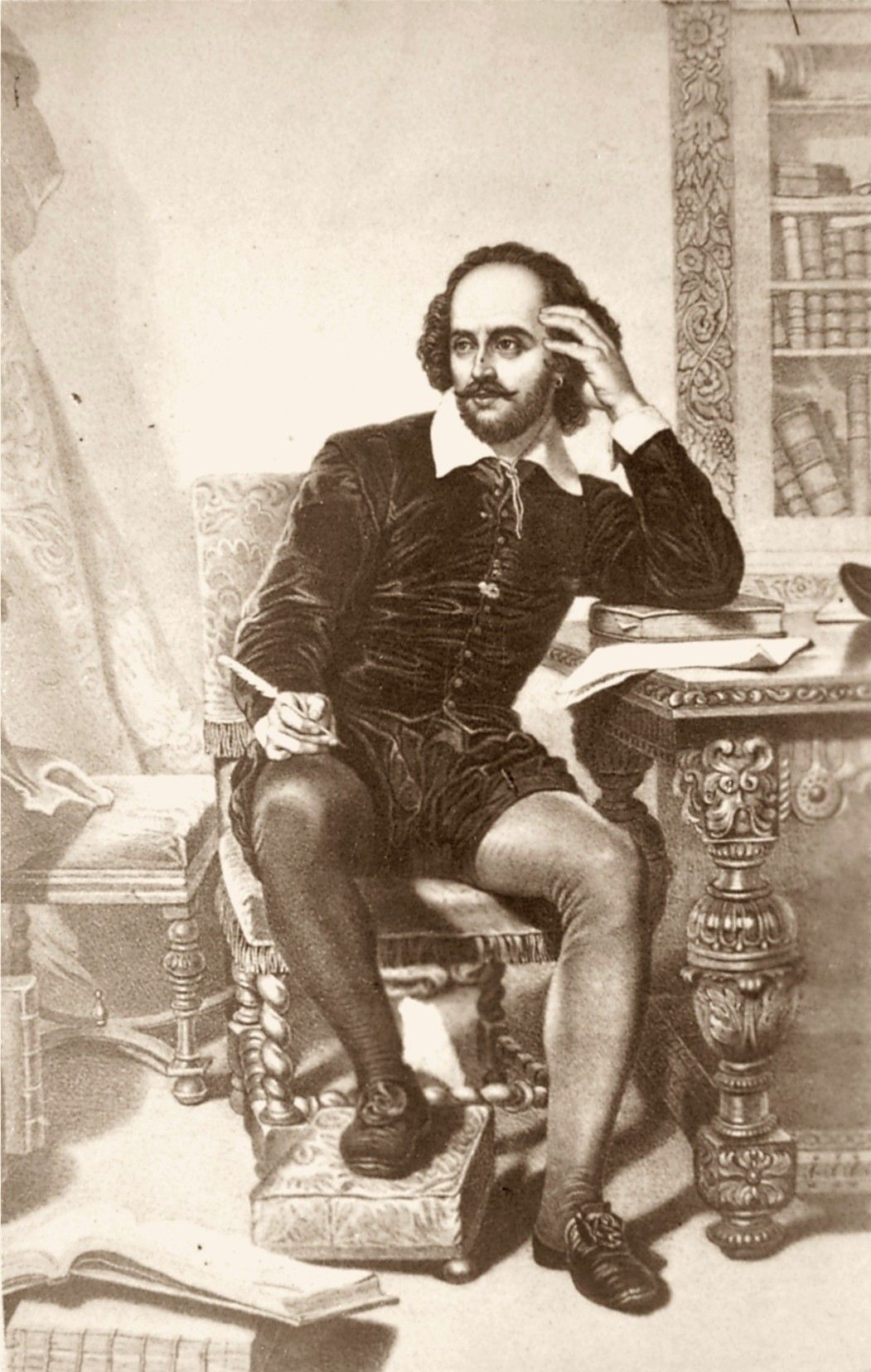 William Shakespeare, poeta e drammaturgo