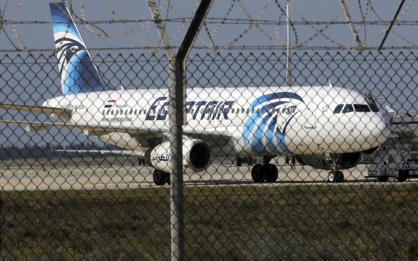LAereo Egypt Air A320 dirottato su Cipro