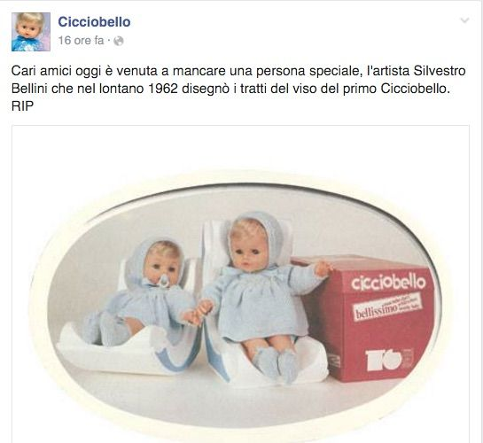 cicciobello facebook