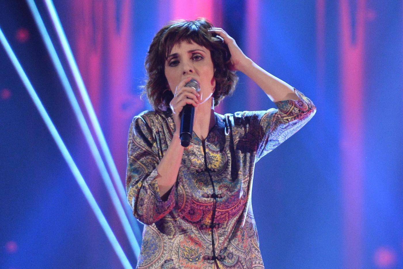 Federica Vincenti a The Voice 4: la moglie di Michele Placido nel team di Raffaella Carrà