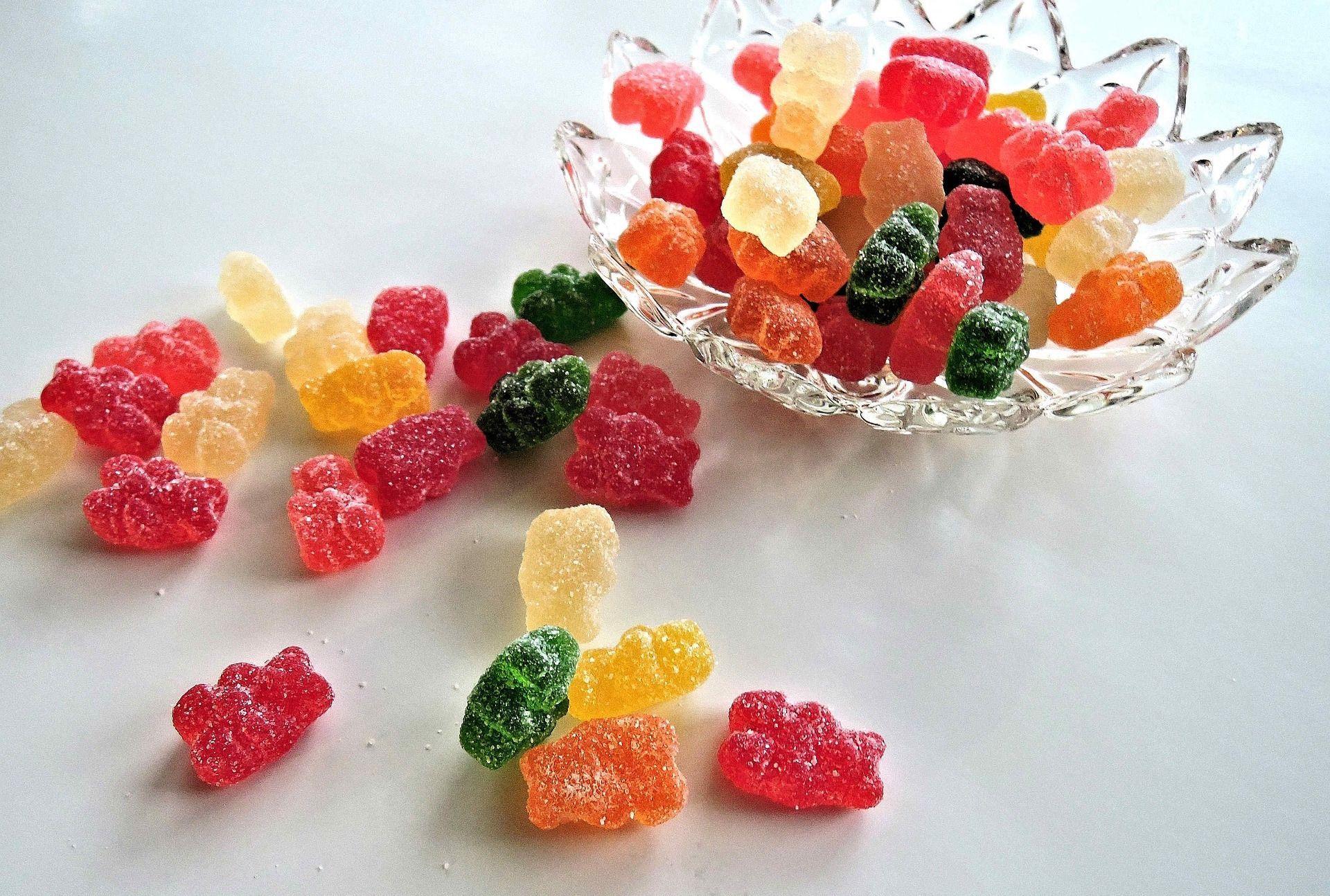 gelatina animale nelle caramelle gommose