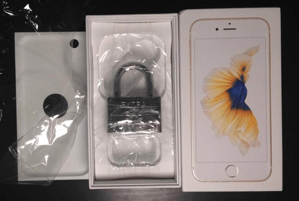 iPhone 6s lucchetto