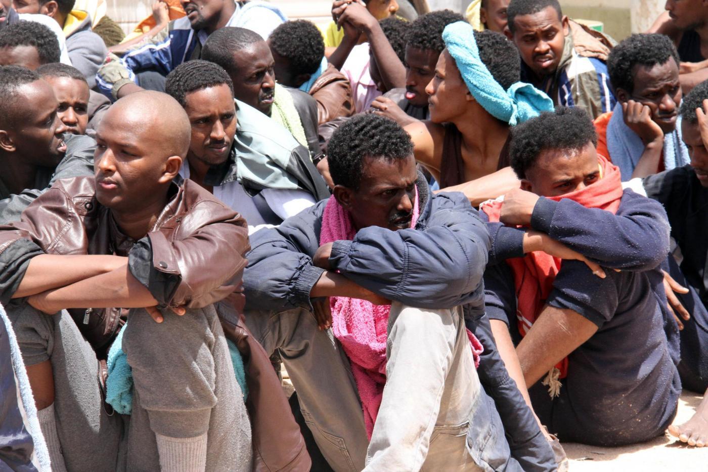 Libia, immigrati a Tripoli