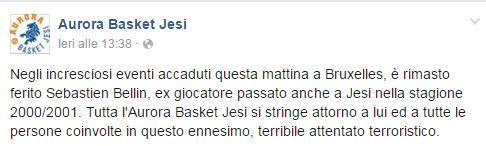 Basket Jesi su Facebook