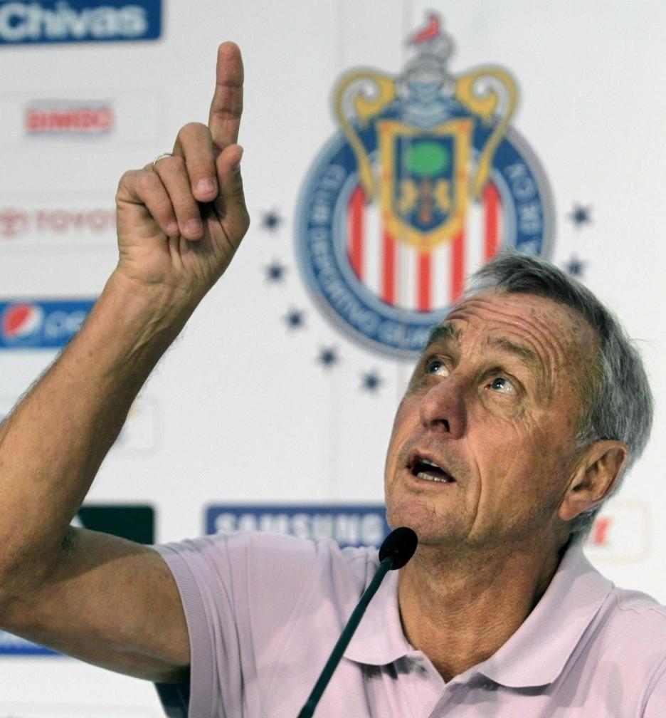 Johan Cruyff dies at the age of 68
