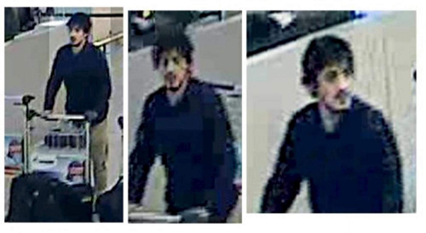 Attentati Bruxelles: i presunti kamikaze