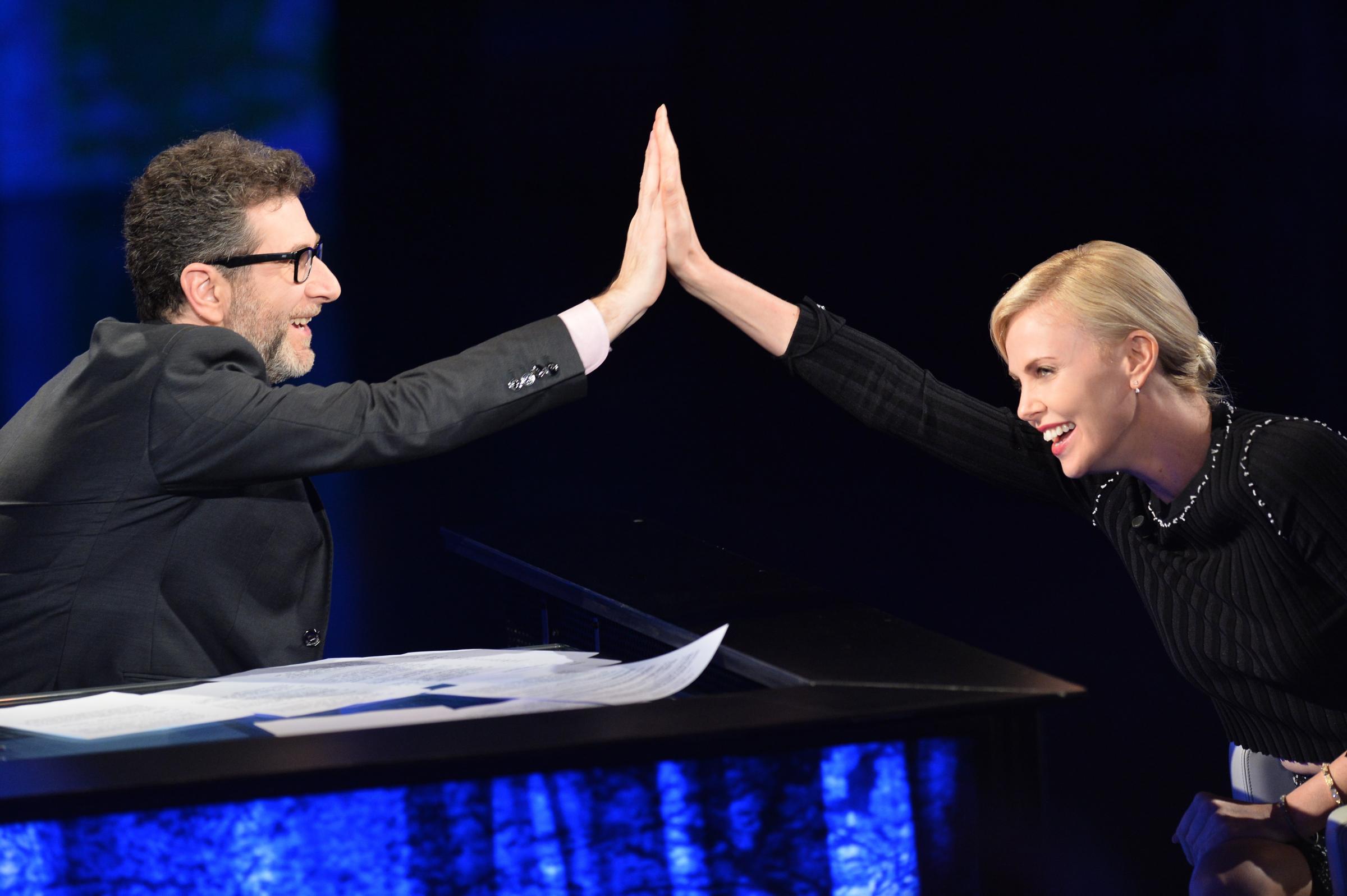 Charlize Theron a Che tempo che fa: l'intervista in onda il 3 aprile 2016
