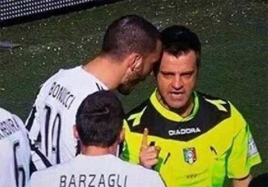 Bonucci testa a testa con Rizzoli