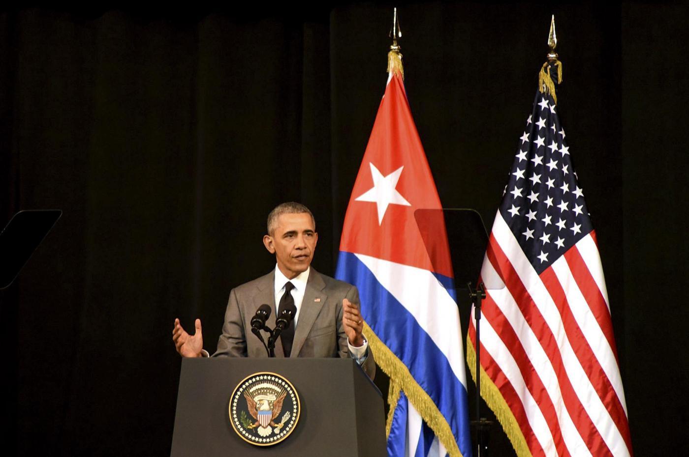 Ultimo giorno della visita di Barack Obama a Cuba
