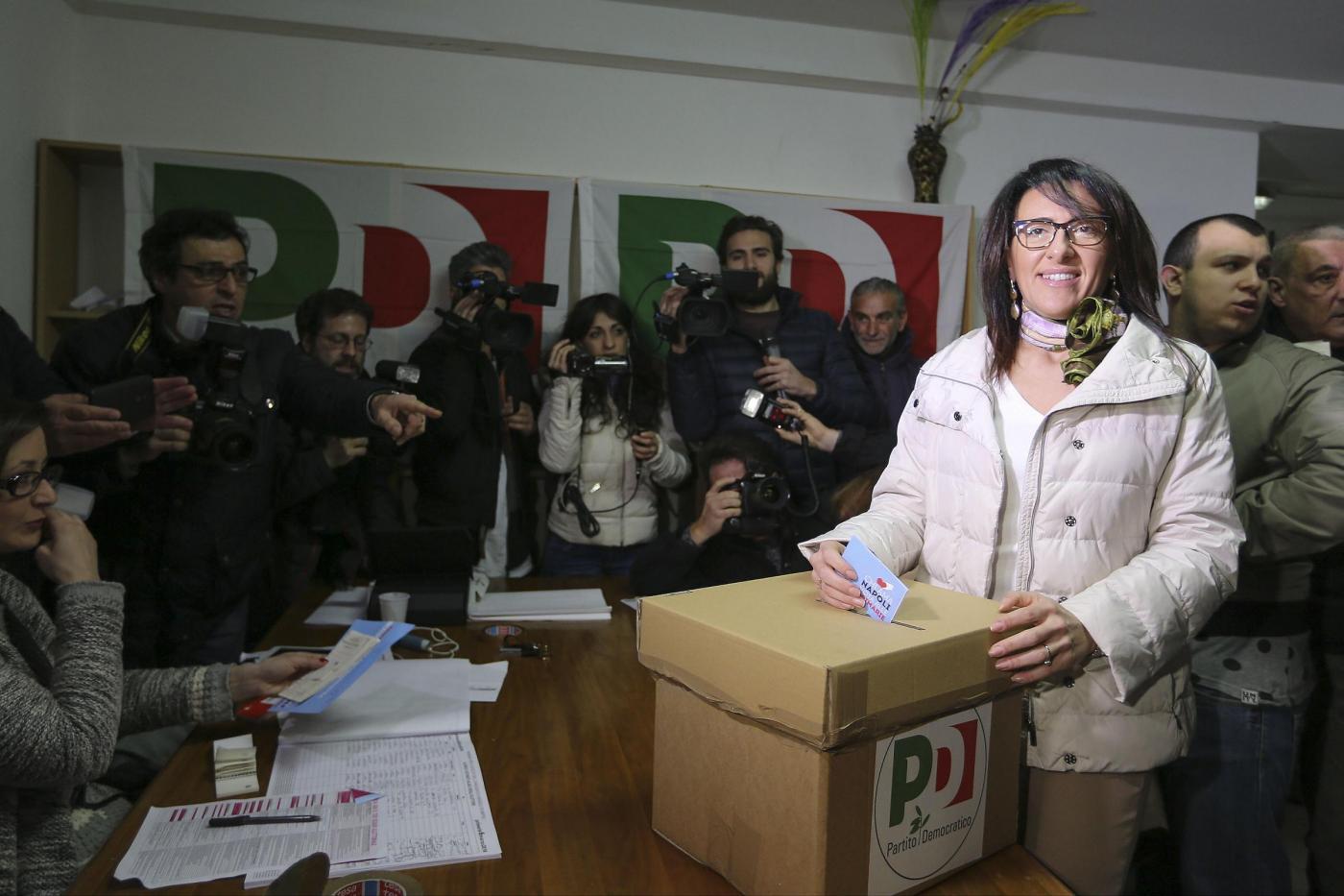 primarie centro sinistra a Napoli