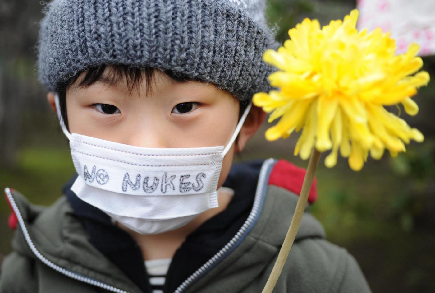 manifestazione anti nucleare