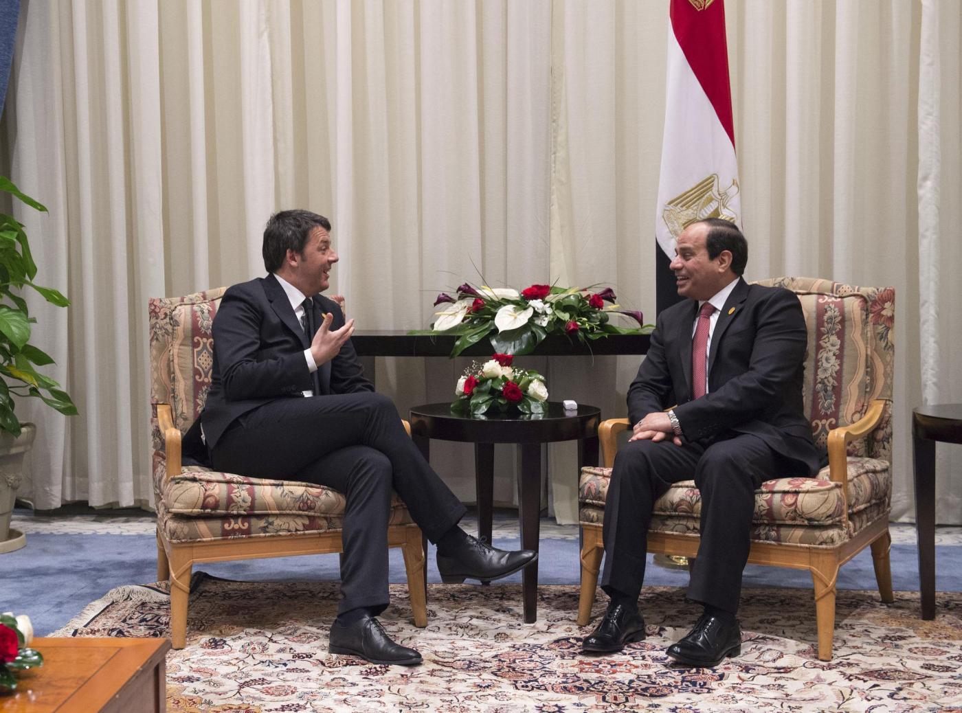 Egitto, Matteo Renzi a Sharm el Sheikh
